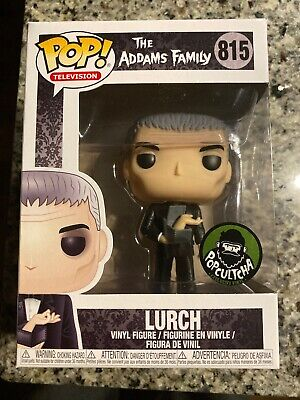 Funko Pop! The Addams Family Lurch with Thing Popcultcha Exclusive w/ Protector