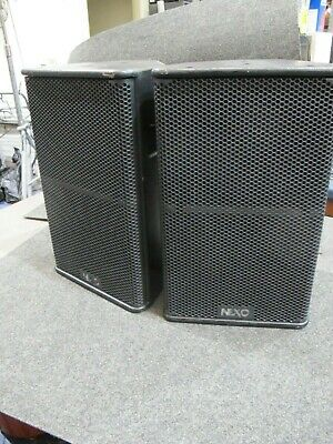 NEXO PS10R2 professional speaker pair Left/right