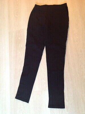 Girls Age 10 Next Vgc Black Trousers/leggings
