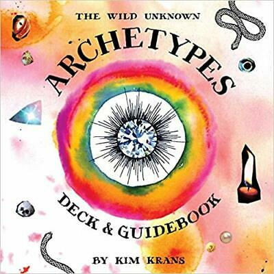 The Wild Unknown Archetypes Deck and Guidebook HARDCOVER –  2019 by Kim Krans