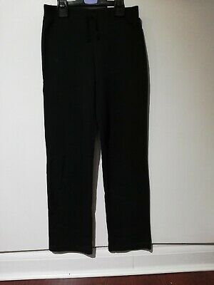 Asda George Girls Black School PE Bottoms Trousers Pants Size 11-12 Years