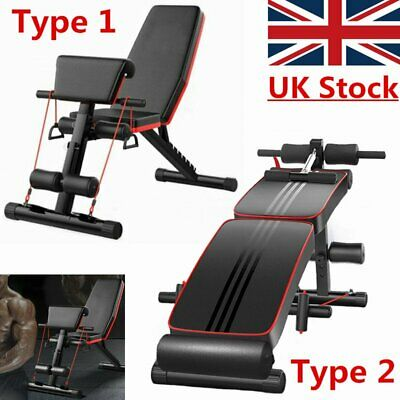 Adjustable Dumbbell Weight Bench / Folding Ab Sit Up Bench Comes Weight Bench QQ