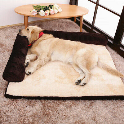 Soft Warm Orthopedic Pet Dog Memory foam bed mat With Removable Cover 4 sizes