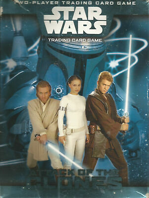 2002 Star Wars Attack of the Clones Two-Player Trading Card Game new but opened