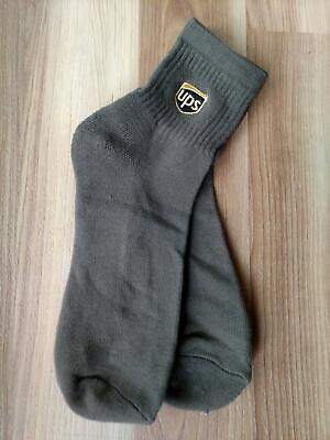 United Parcel Service UPS Anklet Socks ~ One Pair ~ Size 11-13