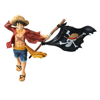 ONE PIECE - Magazine Monkey D. Luffy Pvc Figure Banpresto