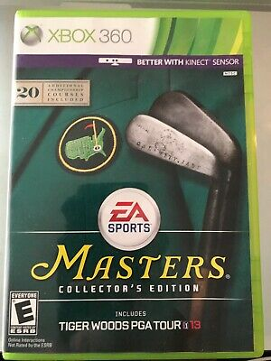 Tiger Woods PGA Tour 13 'Masters Collector's Edition' (Xbox 360, 2012)