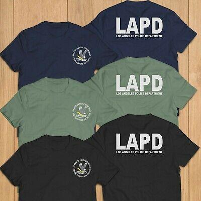 New Los Angeles Police Department LAPD Swat Unit Rescue Custom T-Shirt Tee