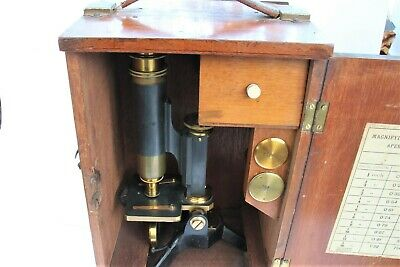 Antique Microscope By T.b.winter And Son