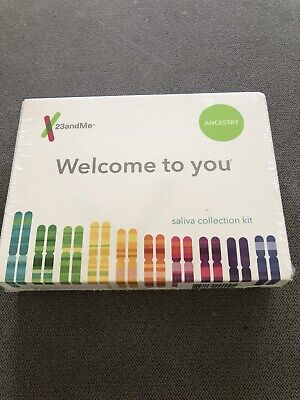23andMe - Personal Ancestry Kit with Lab Fee Included.  Exp 05/30/2021 Brand New