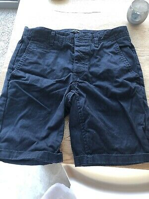 River Island Mens Navy Tailored Shorts
