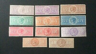 India a lovely collection of Queen Victoria Government Revenue Stamps