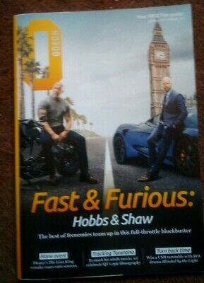 """""""Fast And Furious"""" Odeon Film Guide July / August 2019 iss 111"""