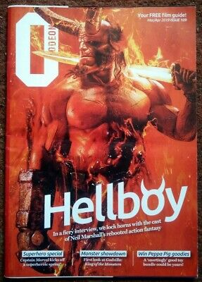 """""""HELLBOY"""" Odeon Film Guide - March / April 2019 - iss No. 109"""