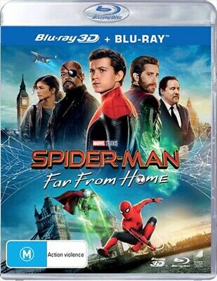 Spider-Man: Far From Home 2019 * 3D Bluray REGION FREE