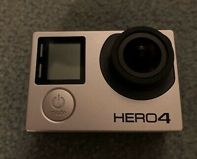 GoPro Hero4 64 GB Camcorder - Silver - With Accessories