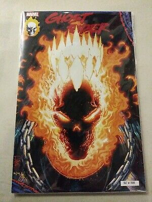 Ghost Rider #1 NYCC Glow in the Dark Variant 552 of 1500 Marvel 2019 VF-NM