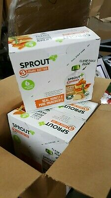 Sprout Organic Stage 3 Baby Food Pouches 3 Boxes 6 Pouches per Box Variety Pack
