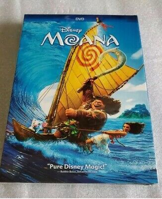 Moana (DVD, 2017) Brand New