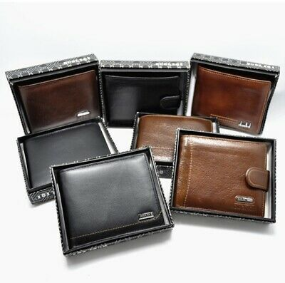 Wallet Mens Luxury Soft Real Leather High Quality + Gift Box Option Available