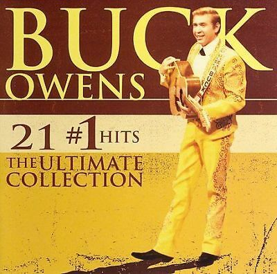 21 #1 Hits: The Ultimate Collection by Buck Owens (CD, Aug-2006, Rhino (Label))