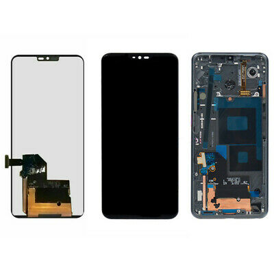 For LG G7 ThinQ G710 Display LCD Touch Screen Digitizer + Frame Replacement
