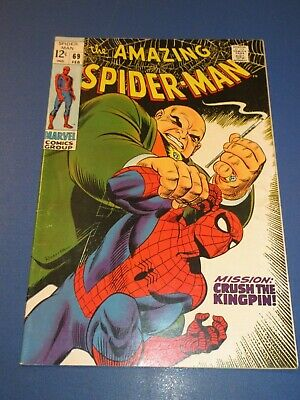 Amazing Spider-man #69 Silver age Kingpin Fine Beauty