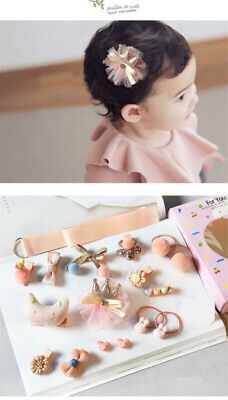 1 Set Hairpin Baby Girl Hair Clip Bow Flower Mini Barrettes Star Kids Infant 18X