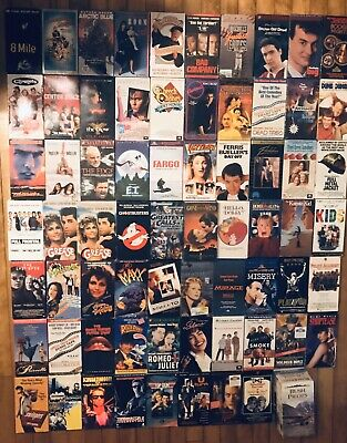 YOU PICK VHS Lot 80s 90s 00s Comedy Drama Cult Sealed/Promo DISCOUNTS + FREE SH