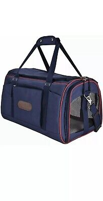 Legendog Pet Carrier,Soft Sided Airline Pet Carrier Small Dogs Med Large Cats