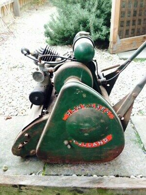 Vintage Mower. Ransomes Sims & Jefferies. MK6