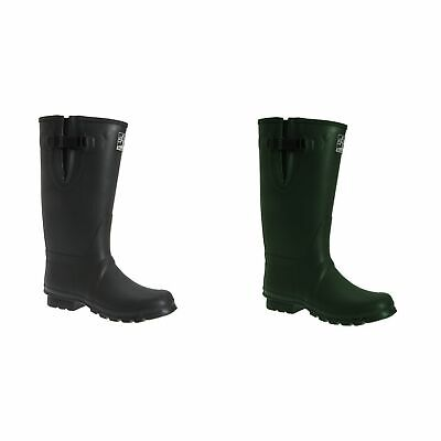Woodland Womens Neoprene Gusset Thermal Insulated Wellington Boots (DF976)