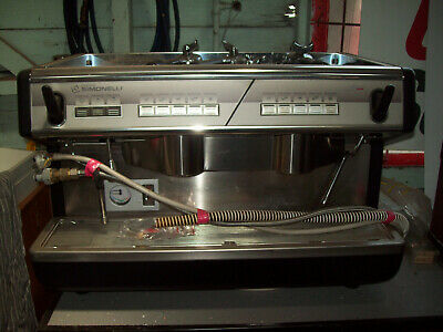 2 Group Simonelli Apia Commercial Coffee Machine