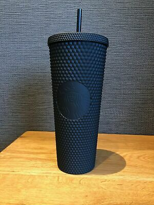 Fall 2019 Starbucks Matte Black Studded Tumbler Cup Limited Edition