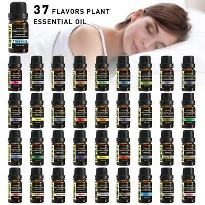 37 Scent Aromatherapy Essential Oils Natural Pure Oil 10ml For Diffuser Burner