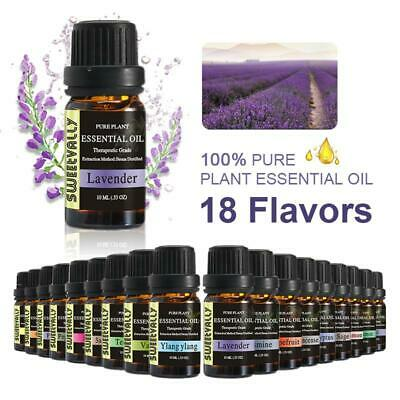 10ml Aromatherapy Essential Oils Natural & Pure Oil For Yoga Spa Diffuser Burner