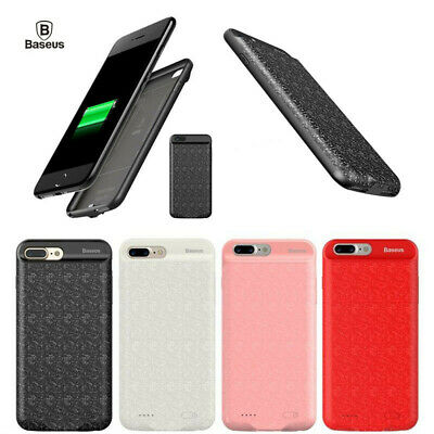 Ultra Thin Power Bank Battery Case External Backup Cover For iPhone 6 7 8 X Plus
