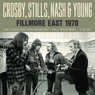 CROSBY STILLS NASH & YOUNG New Sealed 2019 LIVE 1970 NEW YORK CONCERT 2 CD SET