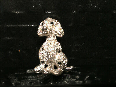 Crystal Dog small crystal pendant black crystal Jewlery pet orniment pearl nose