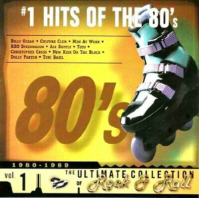 Various Artist Ultimate Collection: #1 Rock & Roll Hits Of The 80's, Vol. 1 CD