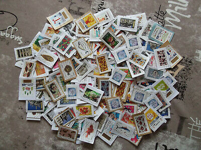 Vrac de 300 Timbres de FRANCE sur fragments