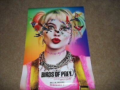 Birds Of Prey Poster Double Sided (Harley Quinn)
