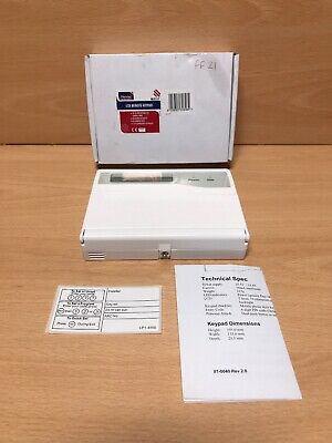 Newlec NL2117 Remote LCD Keypad With Onboard PA For Alarm Kit NL2101 Or NL2116
