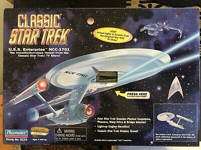 Classic Star Trek USS Enterprise NCC-1701. Sealed Box.