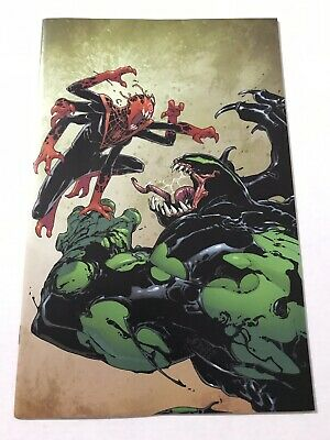 NYCC Absolute Carnage Miles Morales #2 NM Panel EXCLUSIVE Rare Virgin Variant