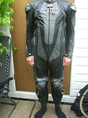 Berik Kangaroo Titanium 1 Piece Race Suit With Hump - 46