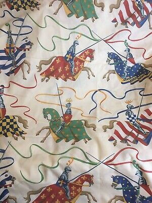 8 Yards Jane Churchill Tournament 1995 Curtain Fabric (more available)