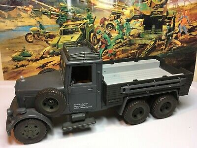 Hasbro Indiana Jones Raiders of Lost Ark German Cargo Truck Lorry Vehicle- 2007