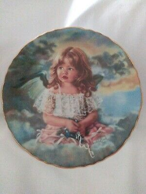 Angel Of Sharing 1994 Collector plate by Sandra Kuck Reco