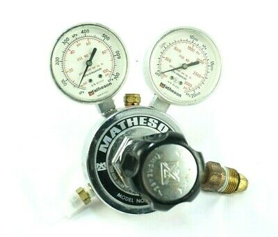 Matheson 8H - 580 Gas 3000 Psig Regulator